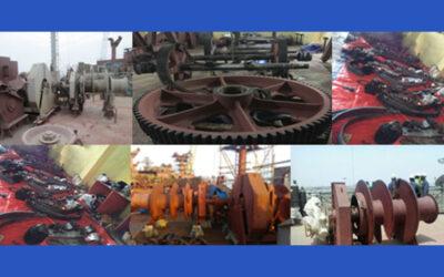 Anchor Windlass and Mooring Winch overhauling: INS-JYOTHI