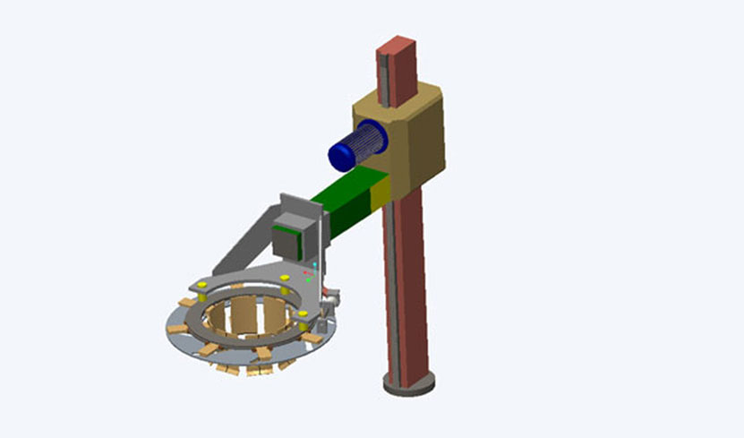 VCL Chuck & Column Modification to reduce cycle time