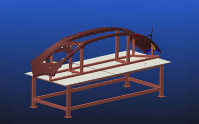 Designing and manufacturing of front mould Jig