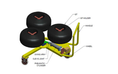 Designing and Manufacturing of 3 position GT holder with pneumatic drive